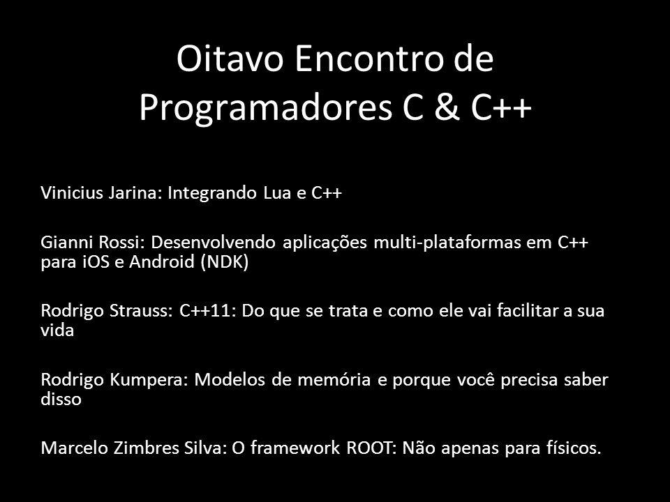 Oitavo Encontro de Programadores C & C++