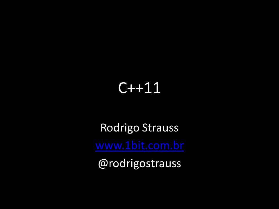Rodrigo Strauss www.1bit.com.br @rodrigostrauss