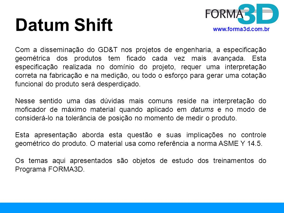 Datum Shift