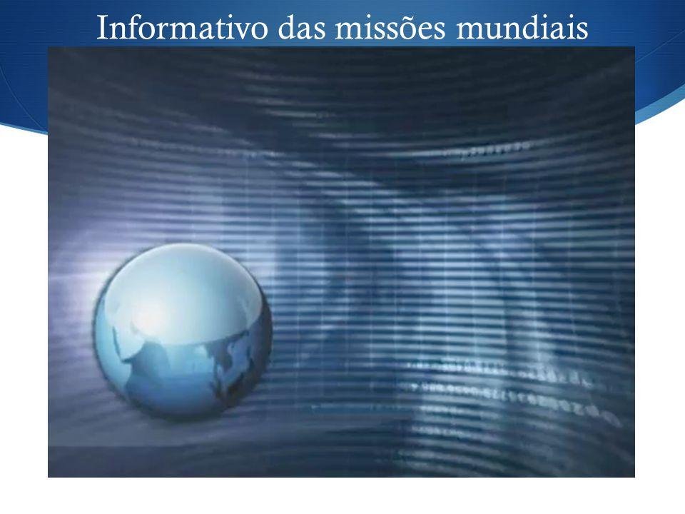 Informativo das missões mundiais