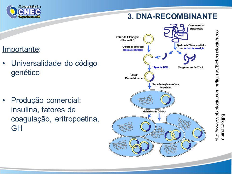 Universalidade do código genético