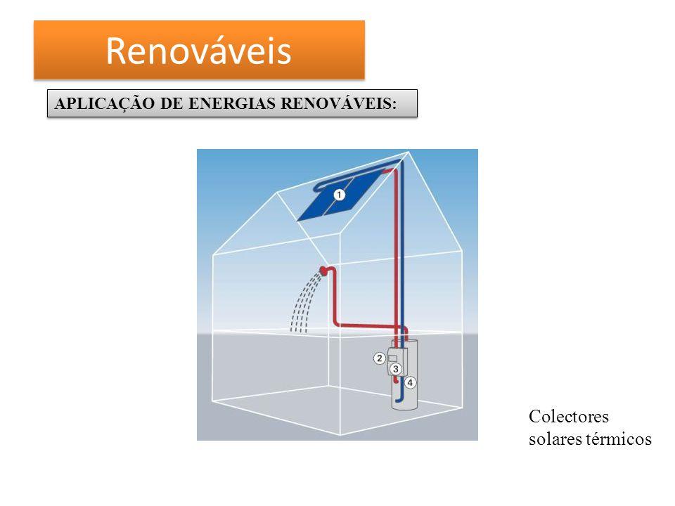 Renováveis Colectores solares térmicos
