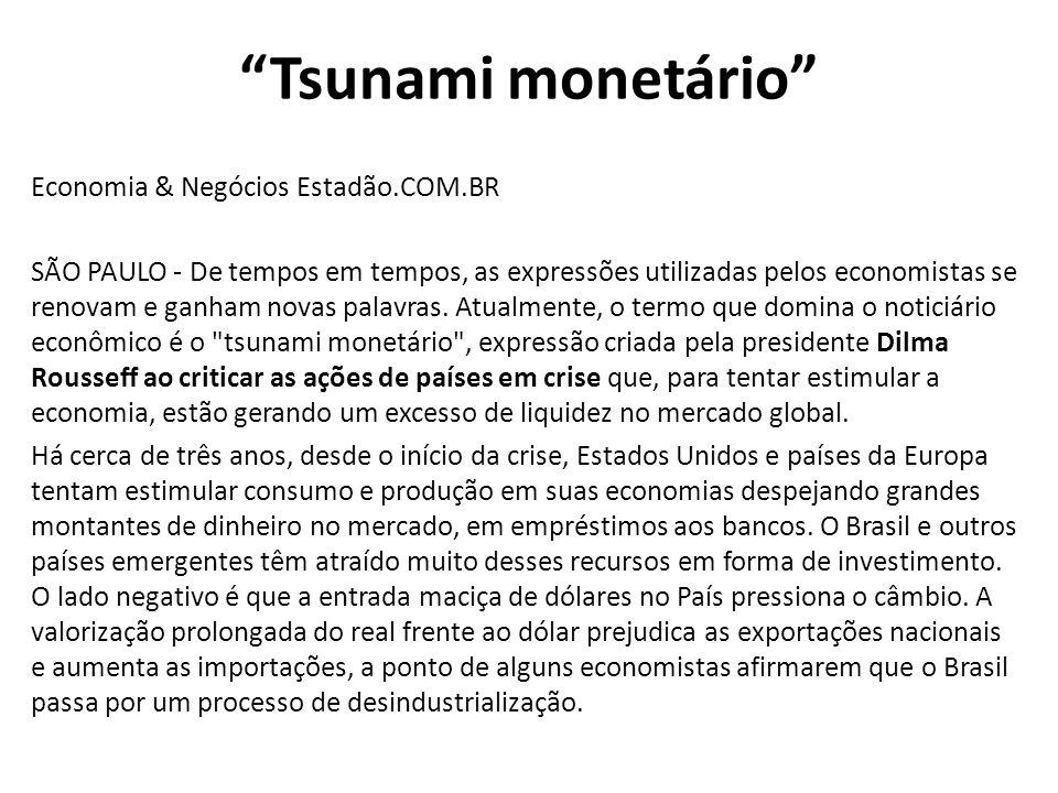 Tsunami monetário