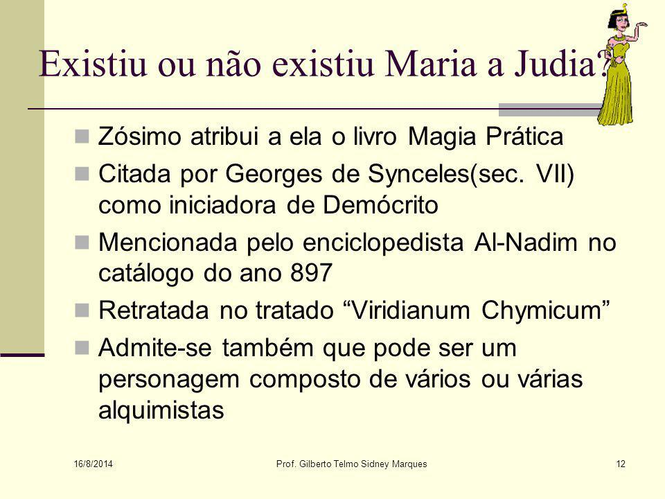 Existiu ou não existiu Maria a Judia