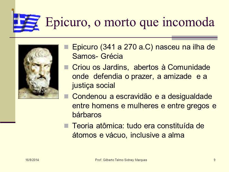 Epicuro, o morto que incomoda
