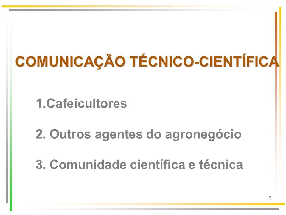 COMUNICAÇÃO TÉCNICO-CIENTÍFICA