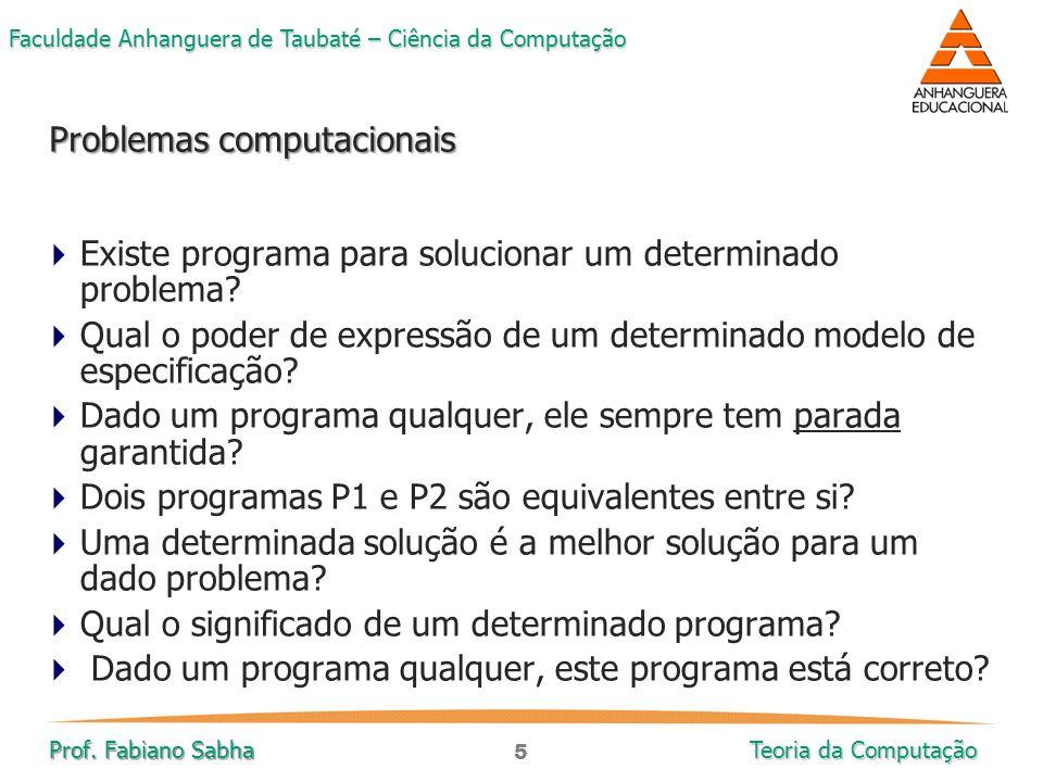 Problemas computacionais