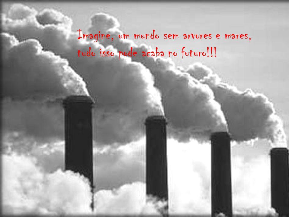 Imagine, um mundo sem arvores e mares, tudo isso pode acaba no futuro!!!