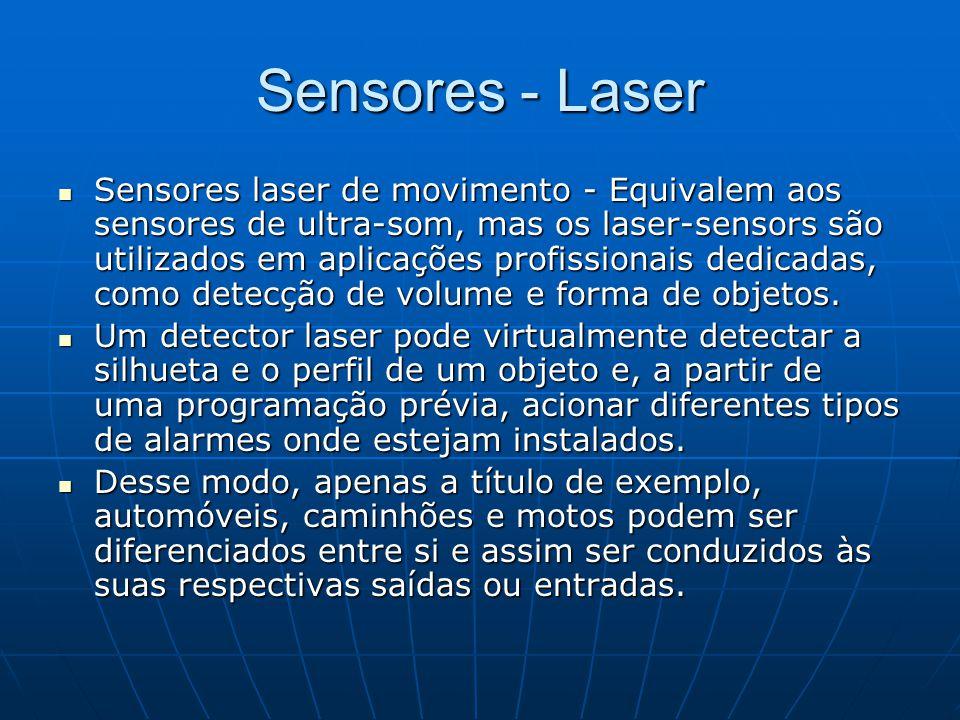 Sensores - Laser