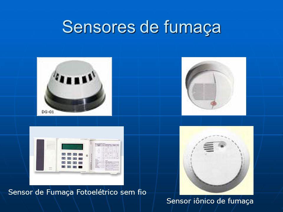 Sensores de fumaça Sensor de Fumaça Fotoelétrico sem fio