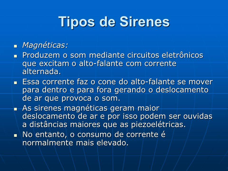 Tipos de Sirenes Magnéticas: