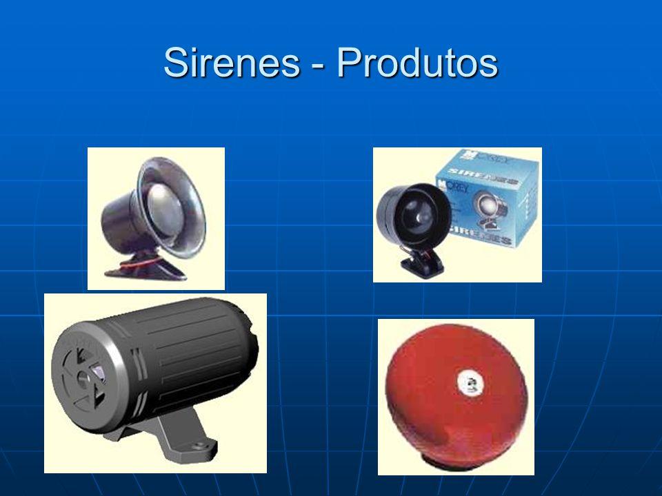 Sirenes - Produtos