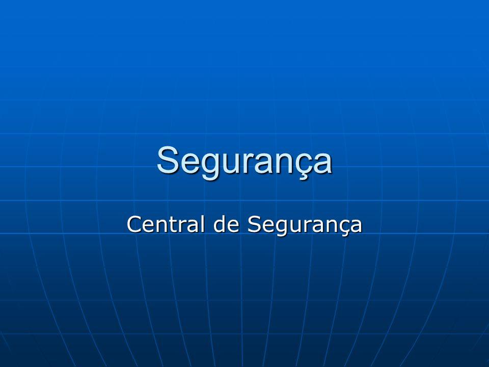 Segurança Central de Segurança