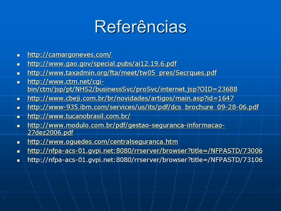 Referências http://camargoneves.com/