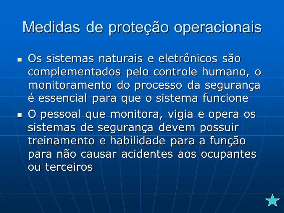 Medidas de proteção operacionais