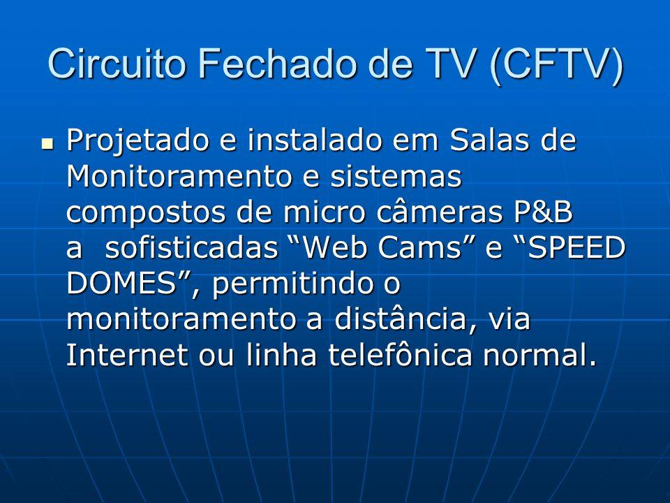 Circuito Fechado de TV (CFTV)