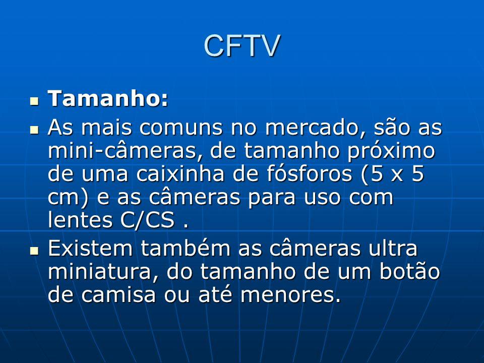 CFTV Tamanho: