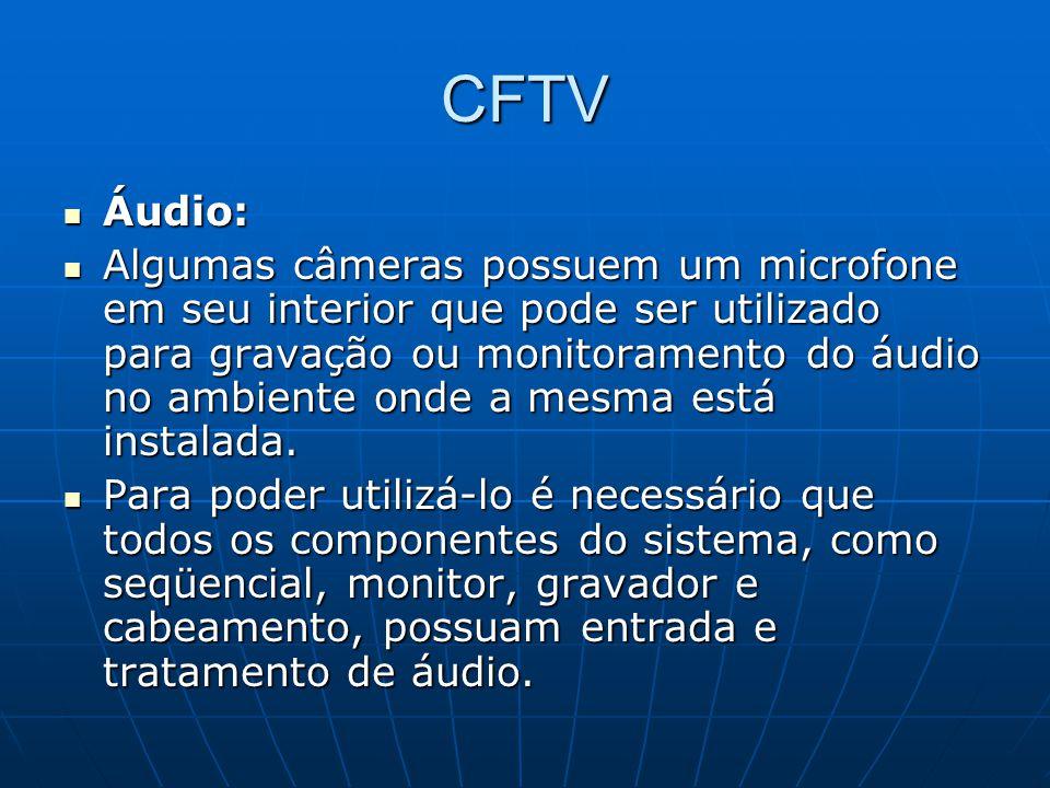 CFTV Áudio: