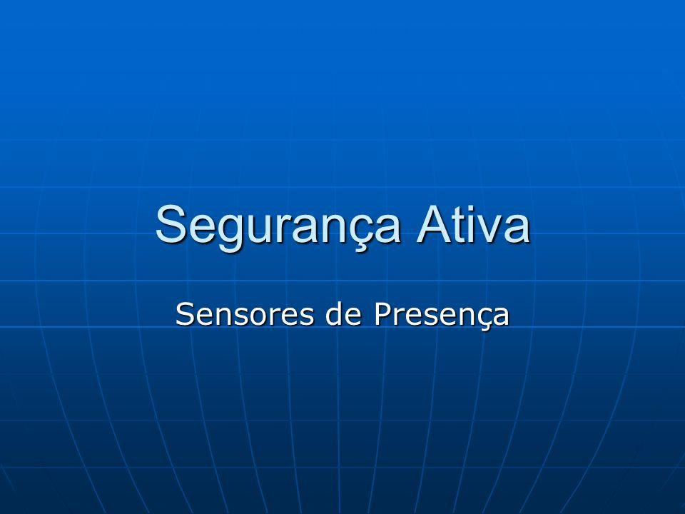 Segurança Ativa Sensores de Presença