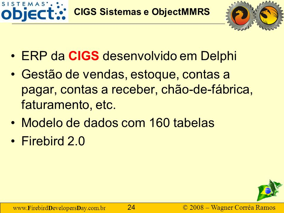 CIGS Sistemas e ObjectMMRS