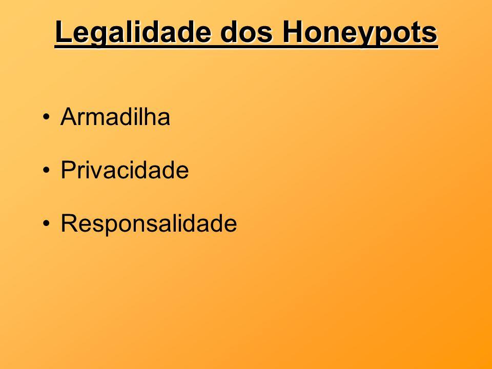 Legalidade dos Honeypots