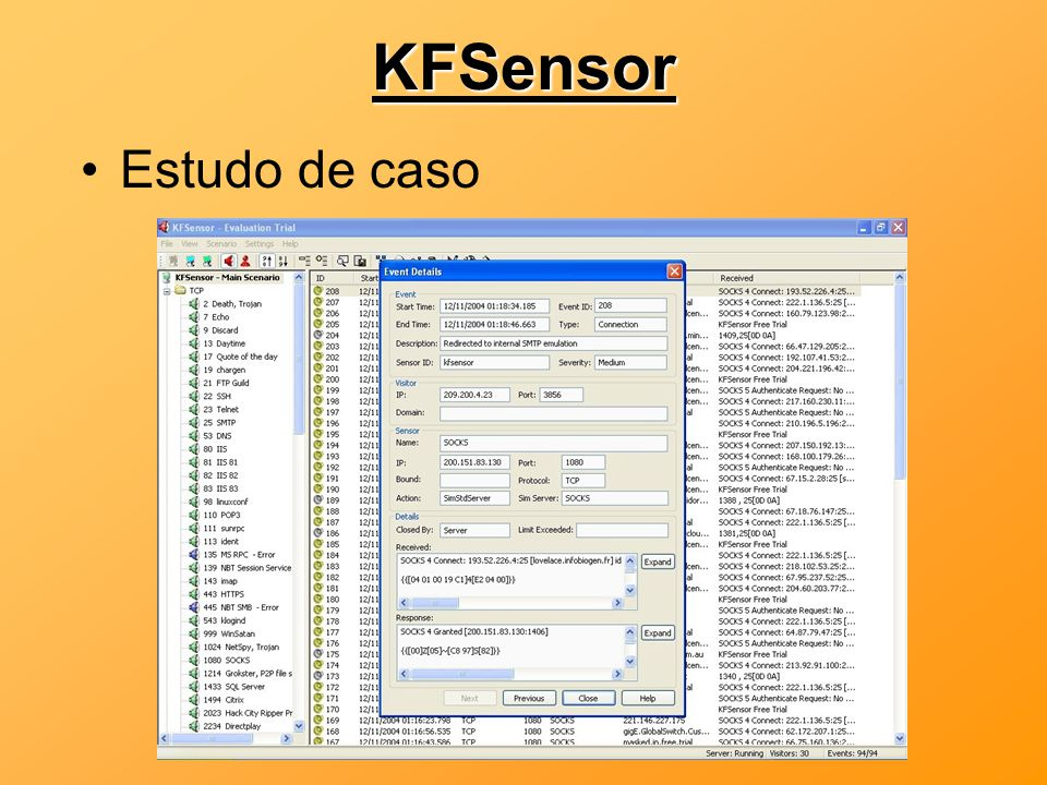 KFSensor Estudo de caso