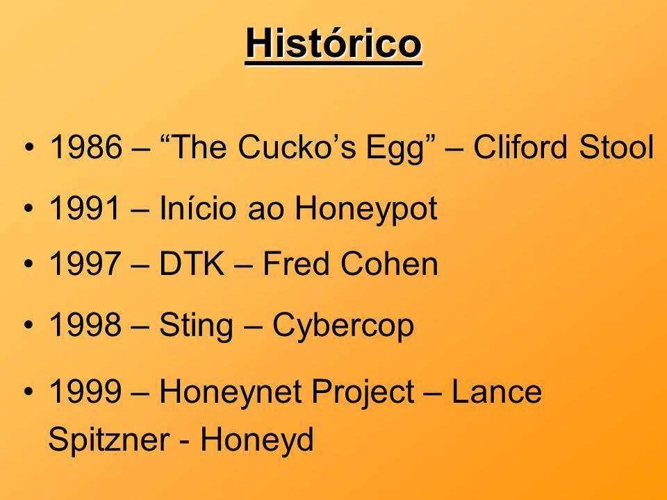 Histórico 1986 – The Cucko's Egg – Cliford Stool
