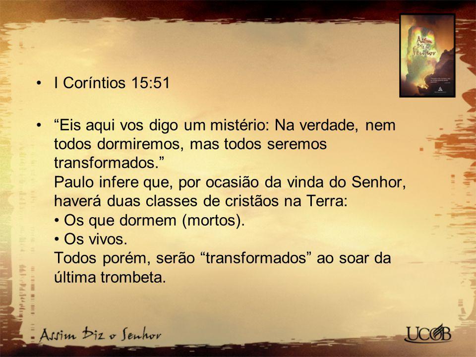 I Coríntios 15:51