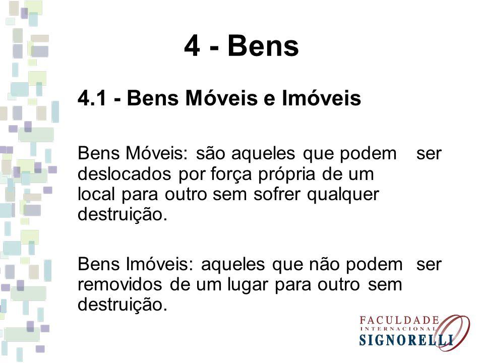 4 - Bens 4.1 - Bens Móveis e Imóveis