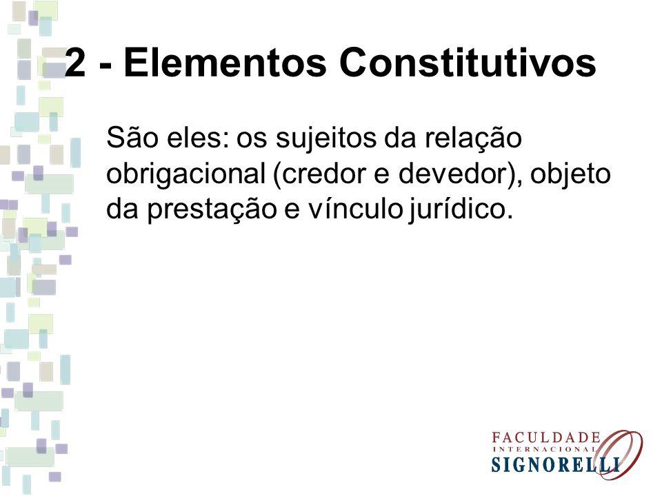 2 - Elementos Constitutivos