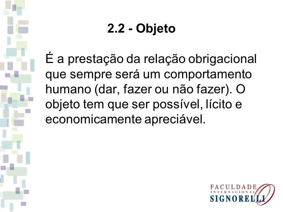 2.2 - Objeto