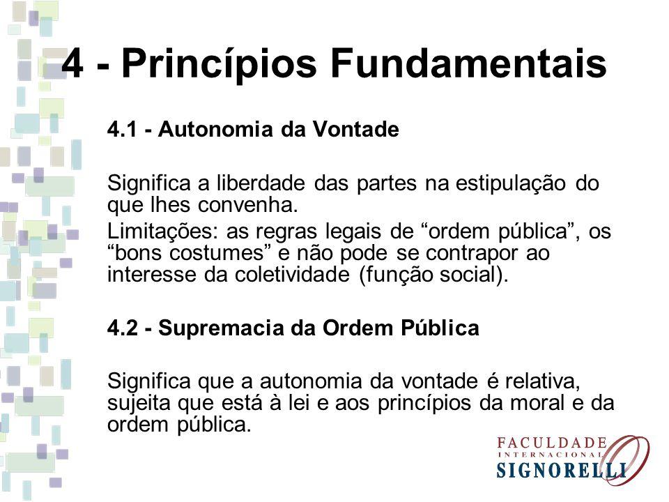 4 - Princípios Fundamentais