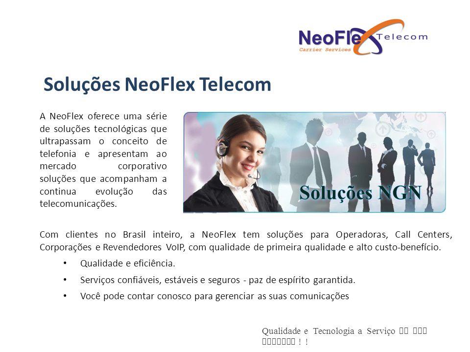 Soluções NeoFlex Telecom