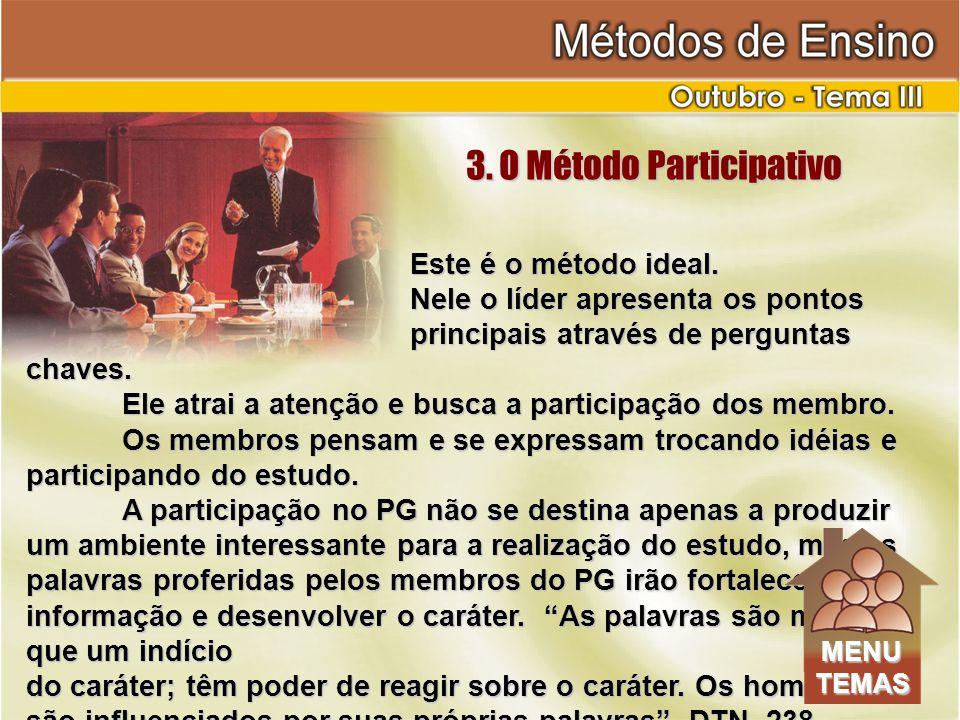 3. O Método Participativo