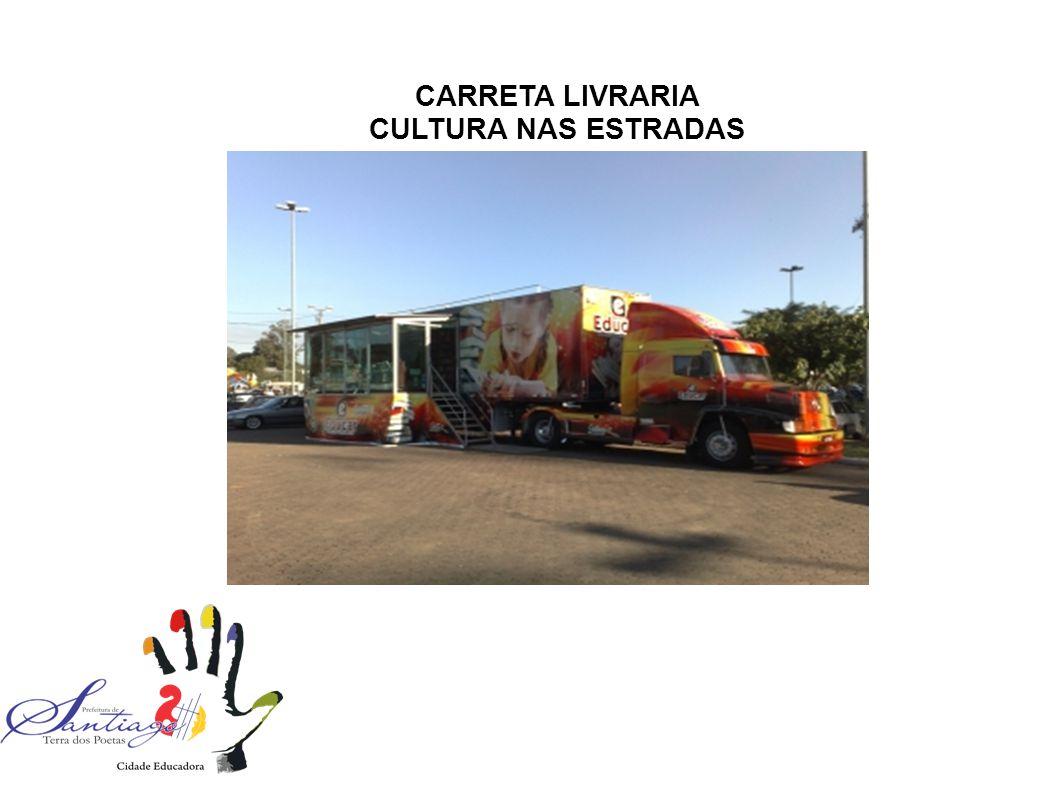 CARRETA LIVRARIA CULTURA NAS ESTRADAS