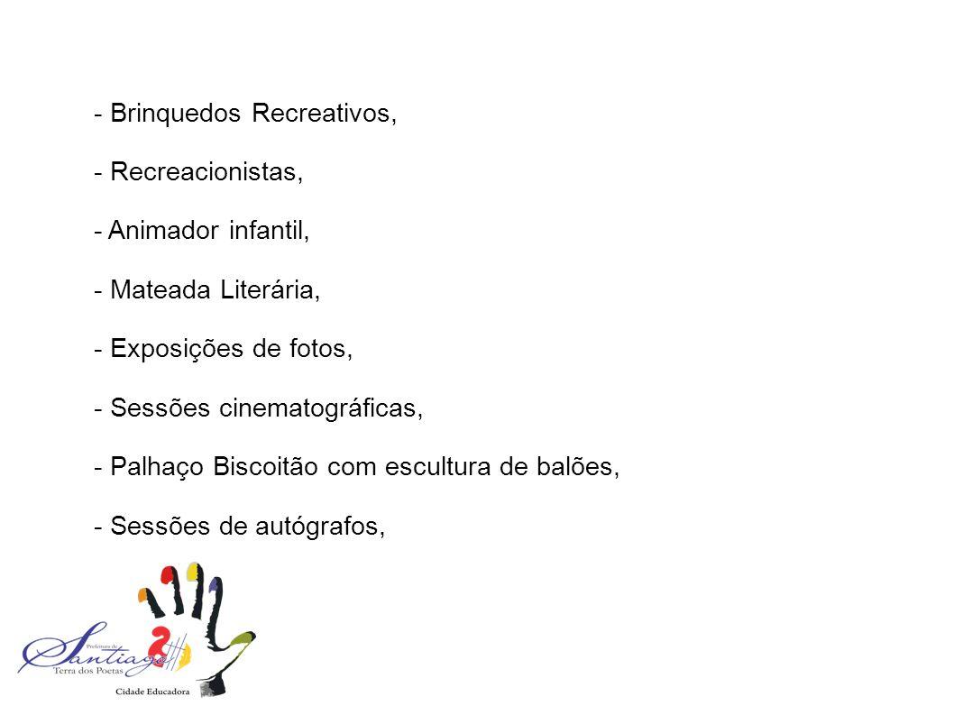 - Brinquedos Recreativos,