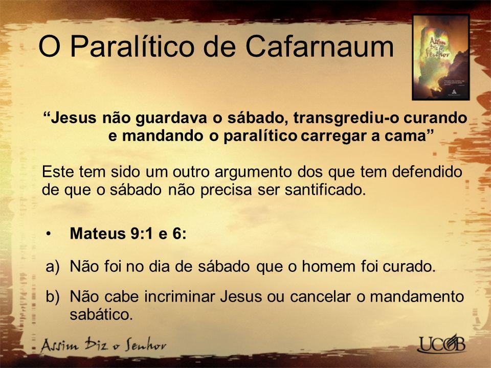 O Paralítico de Cafarnaum