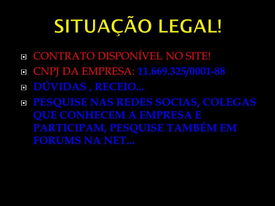 SITUAÇÃO LEGAL! CONTRATO DISPONÍVEL NO SITE!