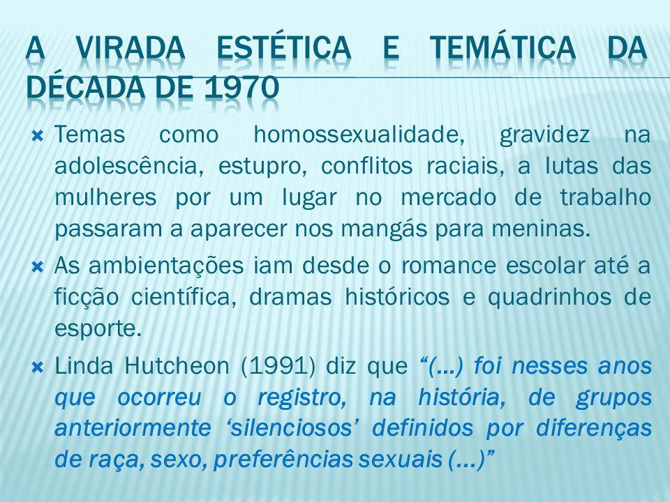 A virada estética e temática da década de 1970