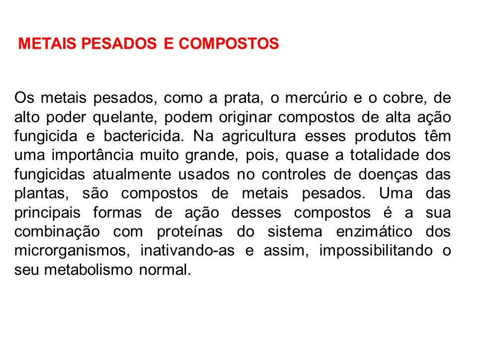 METAIS PESADOS E COMPOSTOS