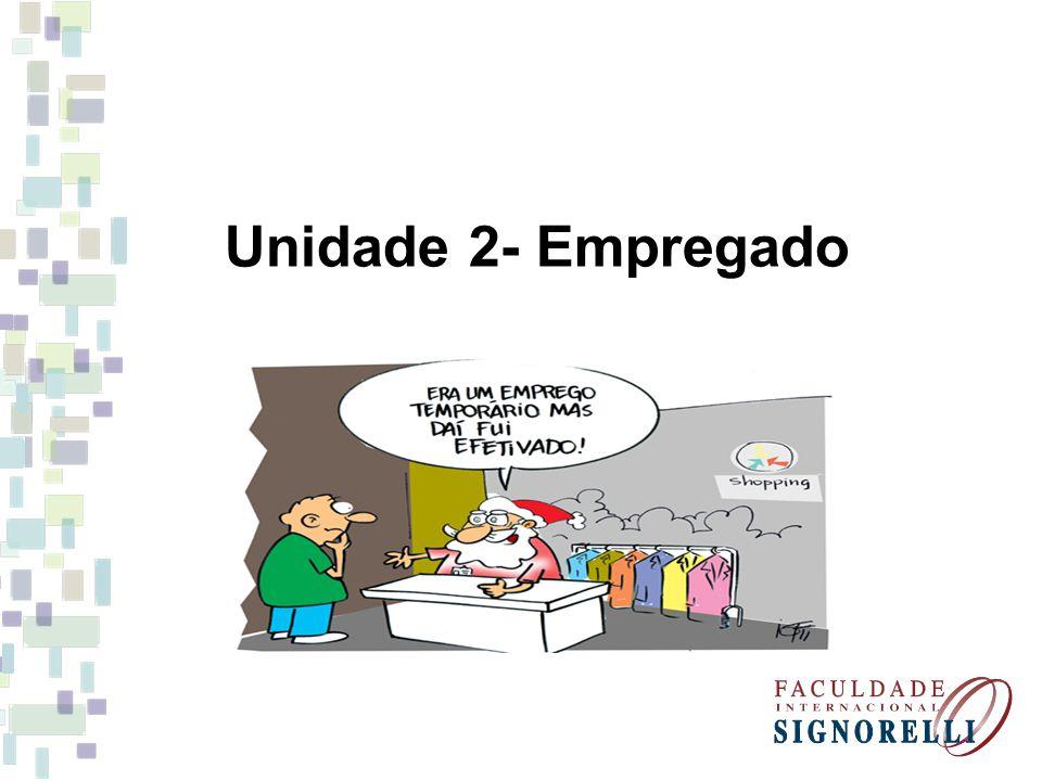 Unidade 2- Empregado