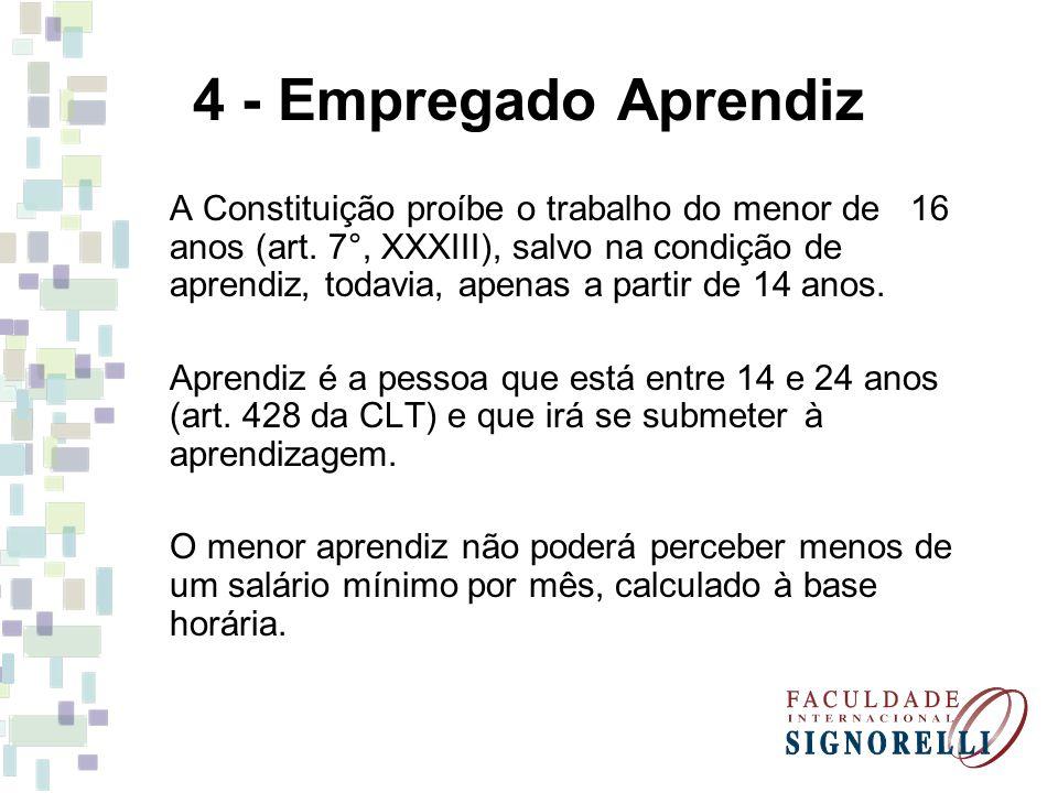 4 - Empregado Aprendiz