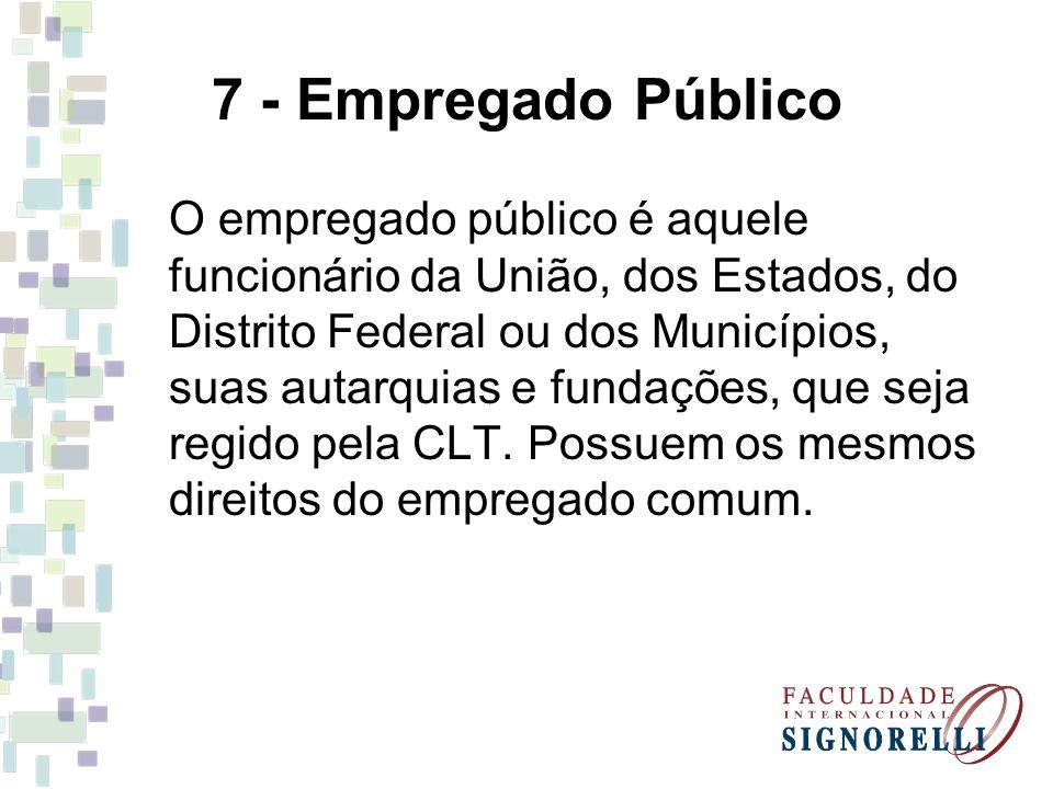 7 - Empregado Público