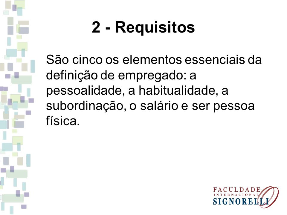 2 - Requisitos