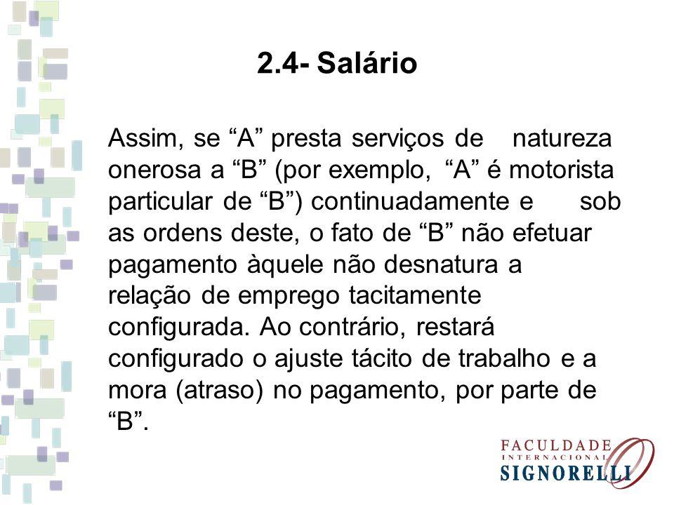 2.4- Salário