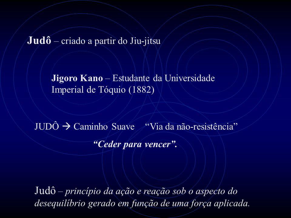 Judô – criado a partir do Jiu-jitsu