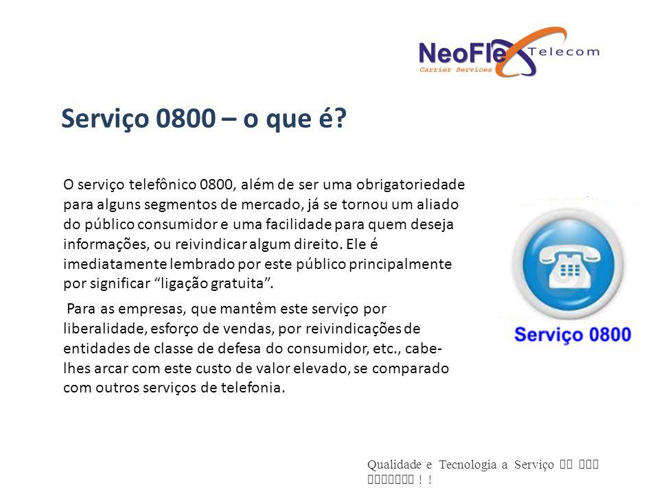 Serviço 0800 – o que é