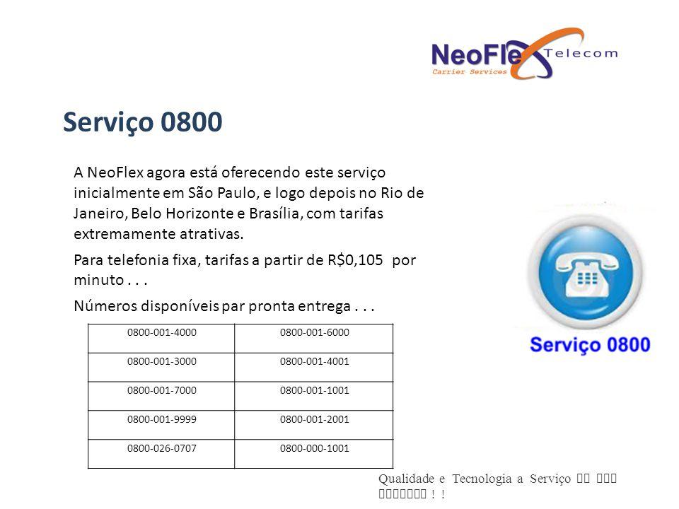 Serviço 0800