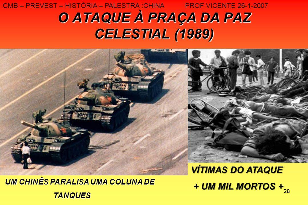O ATAQUE À PRAÇA DA PAZ CELESTIAL (1989)