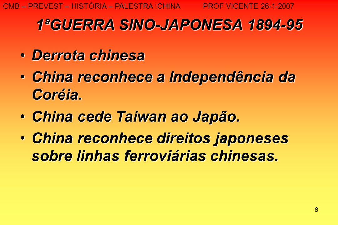 1ªGUERRA SINO-JAPONESA 1894-95